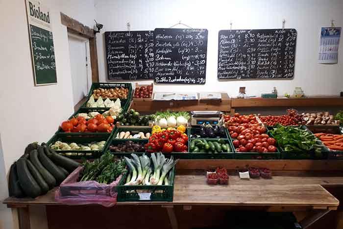 Ladenlokal Gemüse